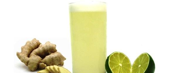 Receita de Suco de Limão com Gengibre Detox para Perder Peso e Emagrecer Rápido com Saúde