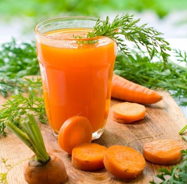 suco de cenoura com gengibre para emagrecer