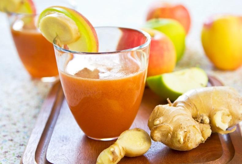 suco de cenoura com limão para cabelo